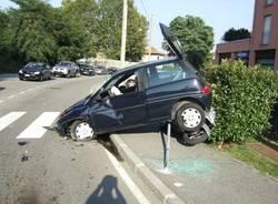 incidente rotonda gallarate via cappuccini agosto 2008