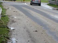 nubifragio buguggiate ferragosto strada provinciale 1