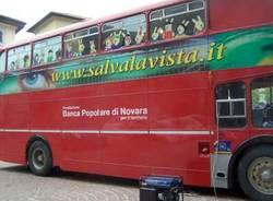 autobus double decker inglese visite oculistiche gratis per bambini busto arsizio 20-9-2008