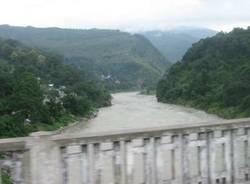 galleria viaggio subcontinente indiano stefano marcora settembre 2008 sikkim diga
