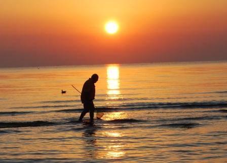 La pesca della sera