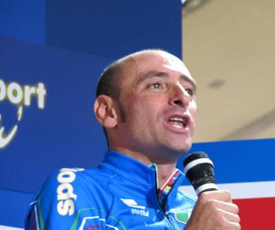 Mondiali di ciclismo 2008 - Intervista a Paolo Bettini