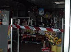 crollo negozio cinese busto arsizio via rossini