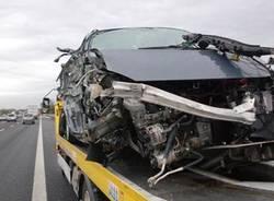 incidente autostrada polizia