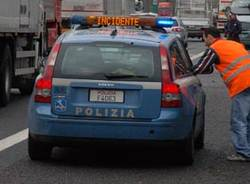 incidente autostrada polizia