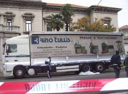 incidente mortale piazzale solaro busto 28-10-2008