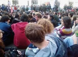manifestazione studenti milano