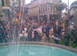 manifestazione studenti varese