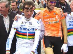 partenza giro lombardia ciclismo ballan sanchez