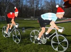 ciclisti padani babbo natale