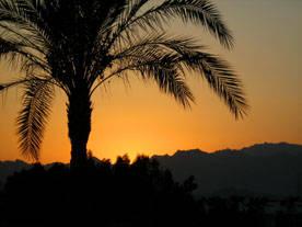 il tramonto di sharm