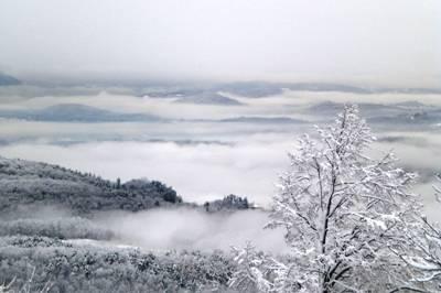 La nevicata, la tregua