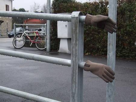 La pausa del ciclista