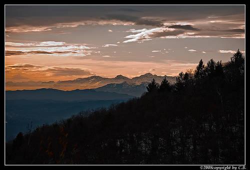 Tramonto dal Sacro Monte