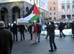 manifestazione pro palestina varese gennaio 2009