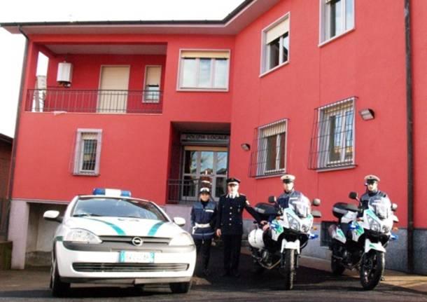 azzate polizia locale via colli