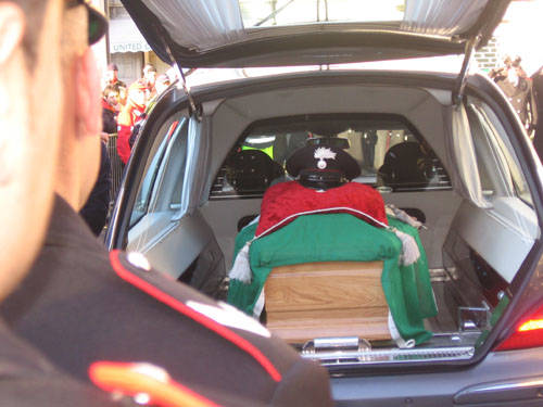 funerale giorgio illuminoso