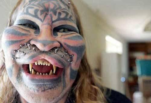 galleria uomo tigre