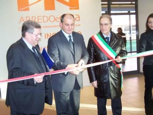 inaugurazione arredoecasa 2009 malpensafiere 14-2-2009