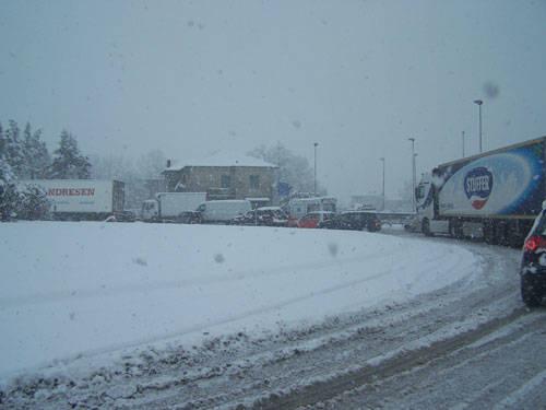 nevicata febbraio 2009 ponte di vedano