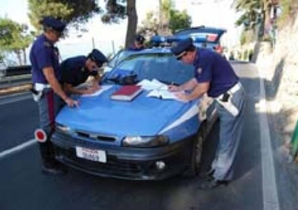 controlli stradali polizia