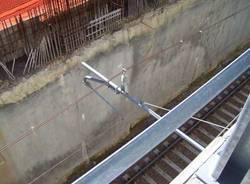 sopralluogo raffaele cattaneo grandi opere ferroviarie 12-3-2009 castellanza interramento tunnel