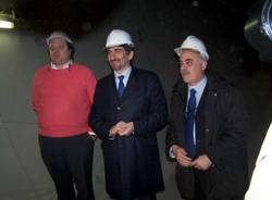 sopralluogo raffaele cattaneo grandi opere ferroviarie 12-3-2009 castellanza interramento tunnel farioli cattaneo baroni