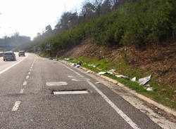 strada statale 336 sporcizia