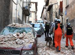 forestale terremoto soccorsi