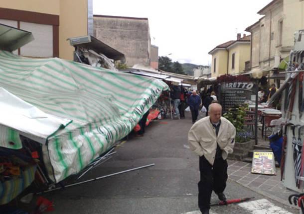 vento forte luino mercato