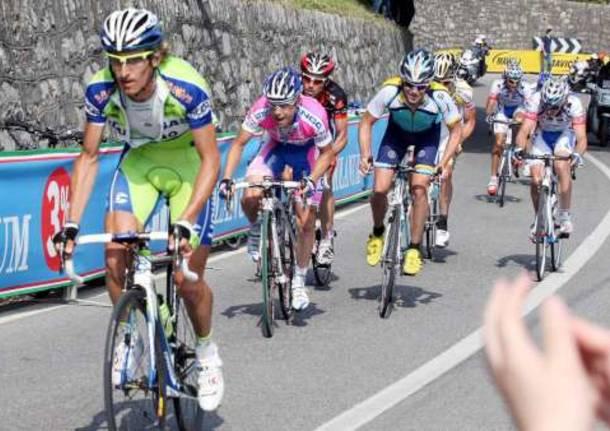 giro d'italia 2009 tappa morbegno bergamo 16-5-2009 ciclismo franco pellizotti damiano cunego horner