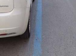 parcheggio pagamento strisce blu