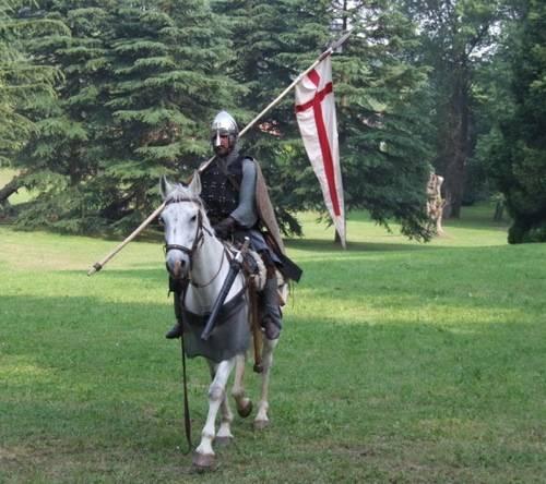 Un cavaliere a Villa Mylius
