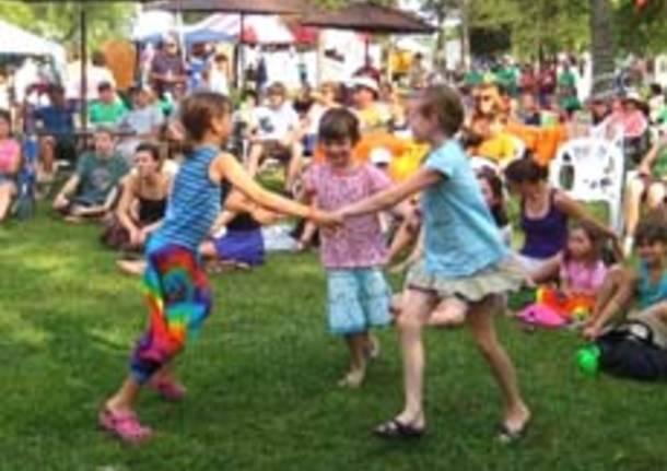 bambini ballo festa generica