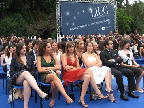 festa laurea liuc 2009 laureati 2009
