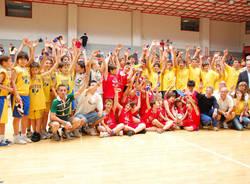 premiazione memorial panin basket 2009