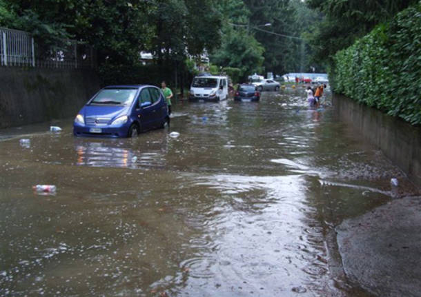 alluvione esondazione varese luglio 2009