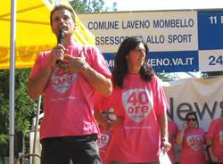 premiazione undicesima 40 ore laveno 2009 bruno cinzia zanon