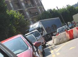 viale belforte traffico 24 luglio