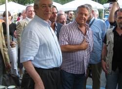 inaugurazione mipam 2009 laveno umberto bossi renato pozzetto