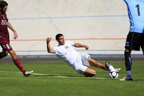 calcio varese arezzo settembre 2009 del sante