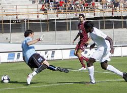 calcio varese arezzo settembre 2009 ebagua gol