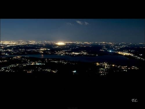 Lago di Varese la sera