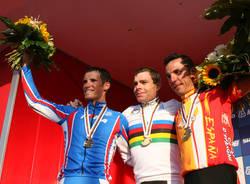 mondiali ciclismo elite uomini podio