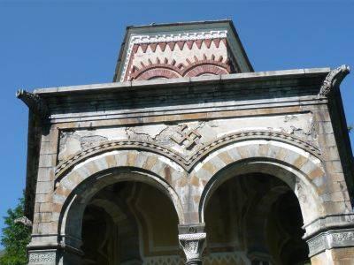 Oropa, dietro la Basilica con cupola