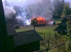 presepe vivente brezzo di bedero incendio cascina