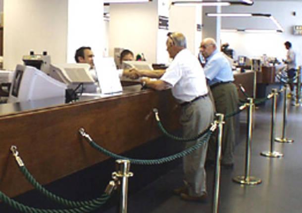 sportello banca seconda nuova
