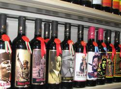 vino scaffale hitler mussolini altri