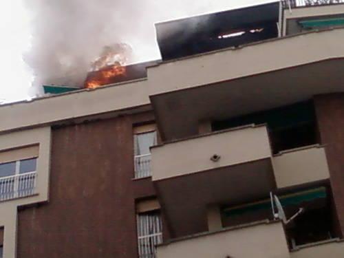 incendio sesto calende centro