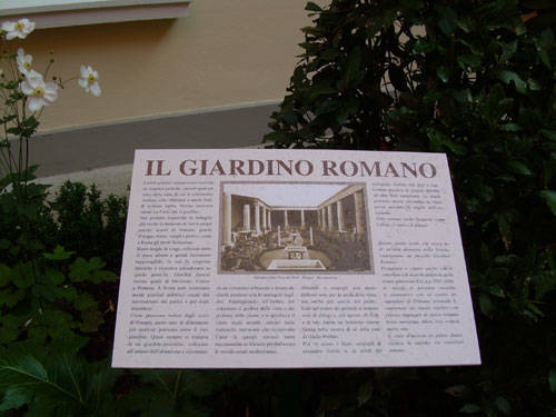 Un giardino romano al liceo classico varesenews foto